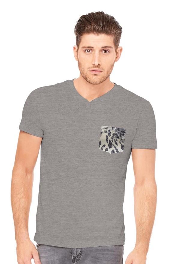 mens tshirts triblend henley t shirt